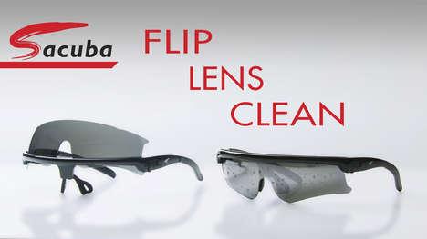 Self-Cleaning Sunglasses