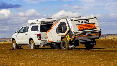 Backcountry Camper Trailers - The Tvan MK5 Off-Road Camper Trailers Withstand Any Terrain
