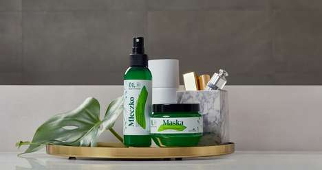 Basil-Based Hair Care Collections