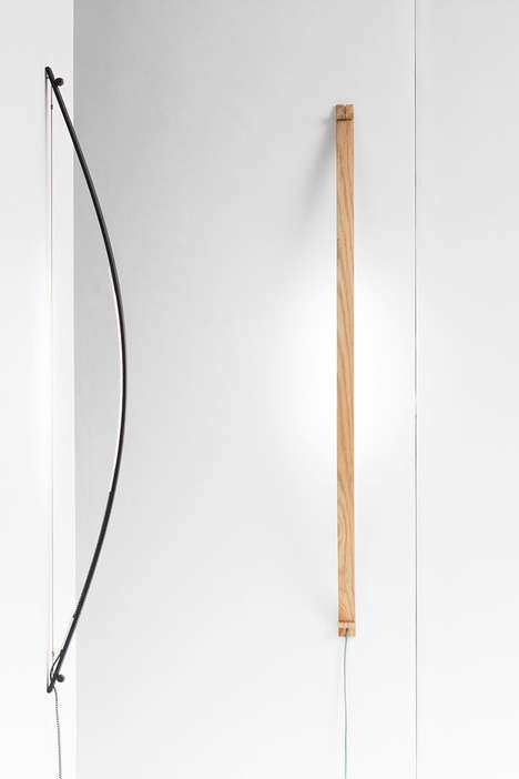 Archery-Inspired Lamps