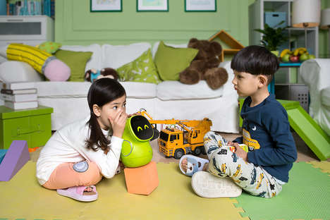 Kid-Friendly Robots - The Pudding BeanQ Robot Has a Charming, Friendly Aesthetic