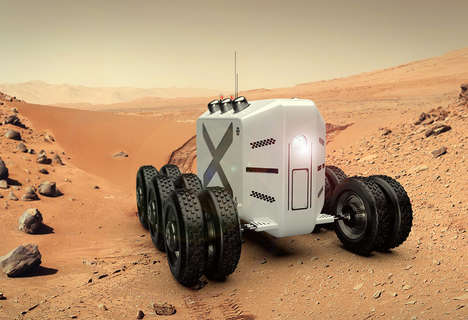 Mars Colonization Vehicles