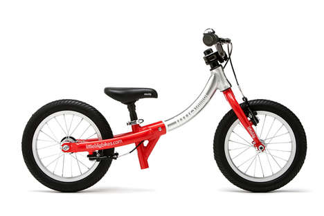 Adaptable Three-Way Bikes - The Sustainable 3-in-1 'LittleBig' Bike Adapts with Growing Children