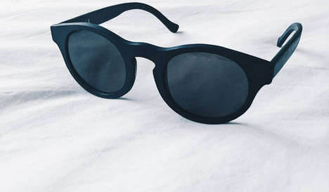 Zero Waste Sunglasses - The 3D Printed Sunglasses From w.r.yuma are Made Out of Recycled Materials