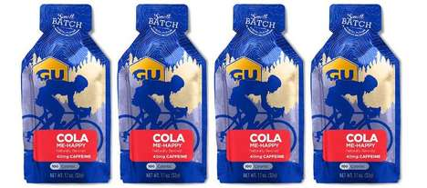 Soda-Flavored Energy Supplements - The GU Energy Gel Cola Me-Happy Contains Just 100 Calories