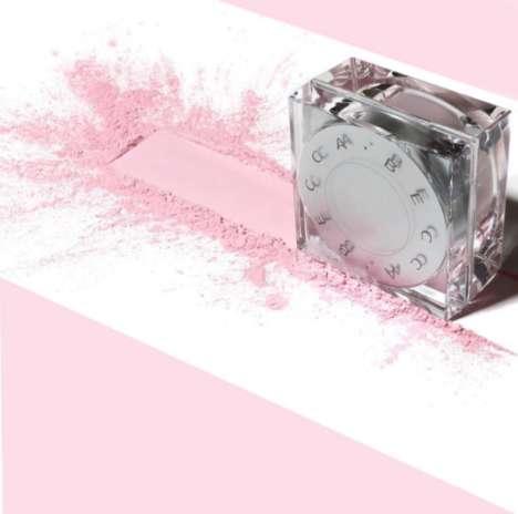 Pink-Hued Finishing Powders
