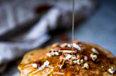 Zucchini Bread Pancakes - This Fluffy Whole Wheat Pancake Recipe Contains Summery Zucchini