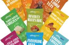 Health Work Snack Boxes - Officebites Offers a Subscription to Help You With Snacking at Work