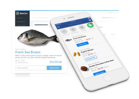 Restaurant Supplier Apps - BlueCart for Buyers Lets Restaurants Streamline Their Ordering Process