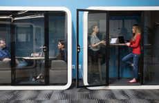 Soundproof Office Pods - Framery's 'Phone Booths' Offer Solutions to Noisy Open-Concept Offices
