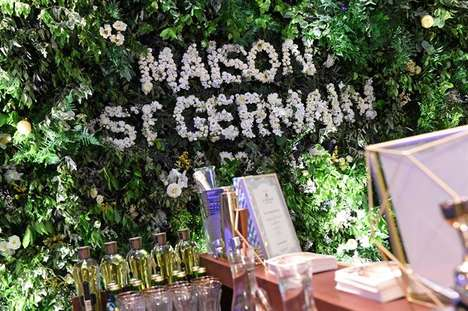 Elderflower Liqueur Pop-Ups - The Maison St-Germain Pop-Up Feted the Decadence of Summer