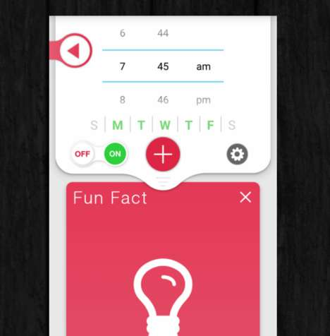 Intelligent Smartphone Alarms - The 'Clockwise' Smart Alarm Lets Users Customize a Wake-Up Narrator