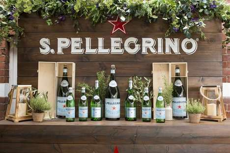 Sparkling Water Dining Events - S.Pellegrino's 'Itineraries of Taste' is a Dining Series in London