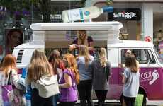 Experiential Wine Campaign Launches - This Barefoot Wine Campaign Kicked Off with a Mobile Wine Bar