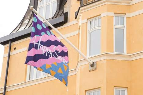 Vibrant Sock Design Offices - The Happy Socks Headquarters in Stockholm is Conducive to Creativity