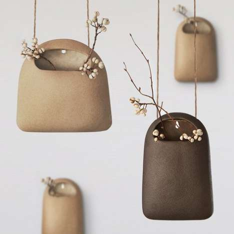 Suspended Pocket Vases