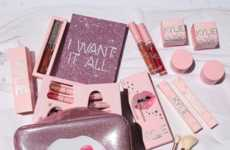 Cotton Candy-Inspired Cosmetics - This Celebratory Kylie Cosmetics Birthday Collection is Feminine
