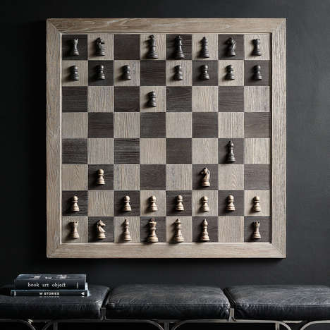 Vertical Artwork Chess Sets
