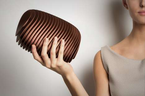Wavy 3D-Printed Clutches