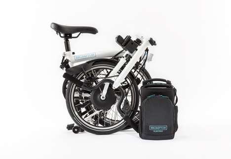 Folding Electric Bikes - Brompton Electric's Collapsible Electric Bike is Portable and Sturdy
