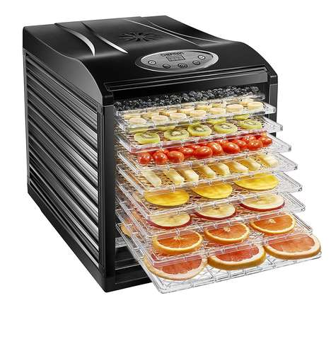 Automated Food Dehydrators - The Chefman Food Dehydrator Creates a Number of Tasty Treats