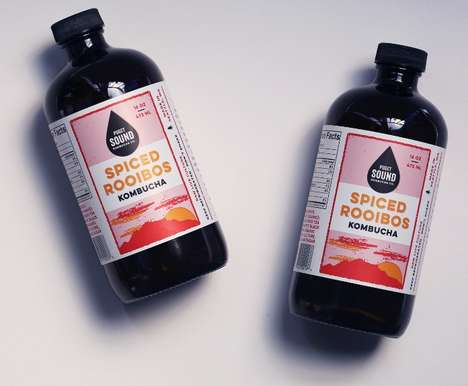 Spiced Organic Kombuchas