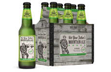 Citrus-Flavored Ales - The Small Town Brewery Not Your Father's Mountain Ale is Refreshing