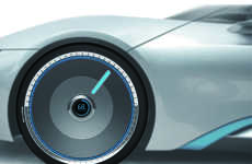 Regenerative Car Wheel Batteries - The 'Wheel Battery' Draws Power from the Turning Wheels