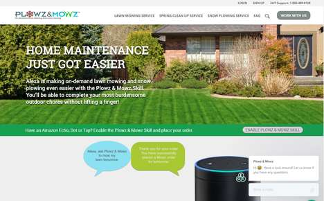 Voice-Ordered Yardcare