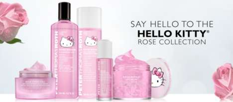 Reparative Skincare Collections - This Hello Kitty Skincare Collaboration is Soothing for the Skin