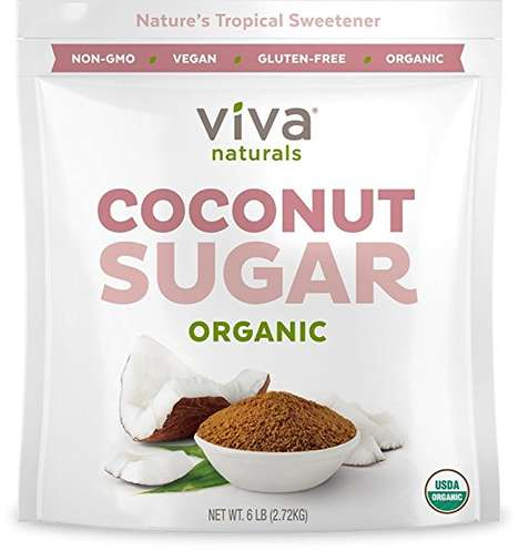 Low-Glycemic Coconut Sweeteners - Viva Naturals' Organic Coconut Sugar Has a Mild Caramel Flavor
