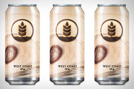 Wooden Knot Beer Branding