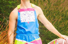 90s-Inspired Swimming Overalls