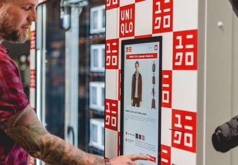 Clothes-Dispensing Vending Machines - Uniqlo's Vending Machines Will Soon Be Available in the US