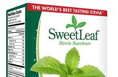 Convenient Stevia Packets - SweetLeaf's Stevia Sweetener Comes in Single-Serving Packets