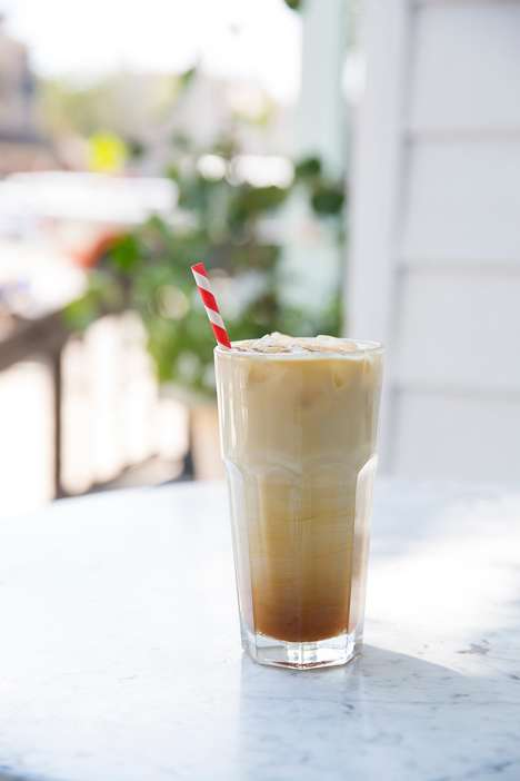 Sparkling Espresso Spritzers - This Espresso Drink from Persephone Bakery is Rich and Bubbly