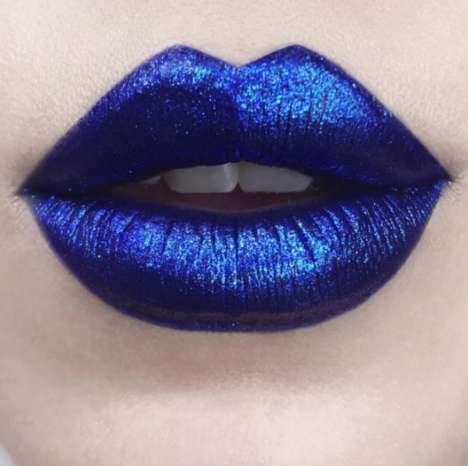 Blue Glimmer Lipsticks