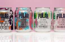 Mythical Seltzer Waters - 'Polar' Released a Collection of Mythically Inspired Seltzer Waters