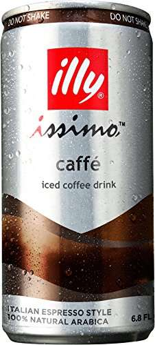 Beet Sugar-Sweetened Espressos - The illy issimo Caffè Coffee Drink Has Low Calories Per Can
