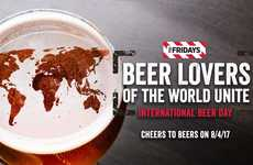 Chain Restaurant Beer Events - TGI Fridays is Celebrating International Beer Day with a Global Party