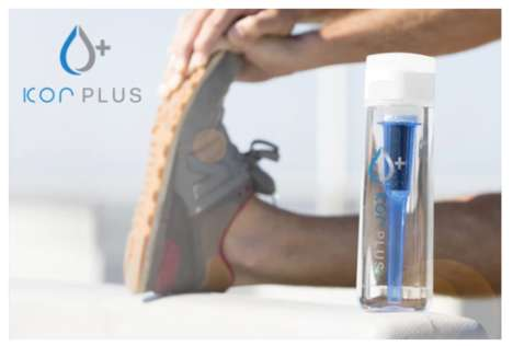 Electrolyte-Infusing Water Bottles - The KOR Plus Water Bottle Turns Any Water into Superwater