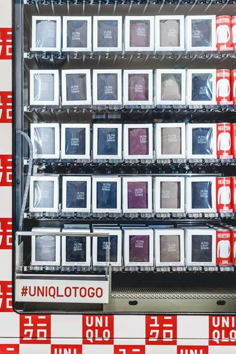 Retail Vending Machines - Uniqlo Unveiled its Plans to Roll Out Clothing Vending Machines