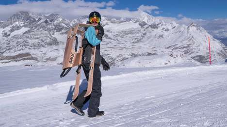 Sporty Performance Snow Sleds - The Aroc Snowsports 'Sports Sled' Comes in Three Models