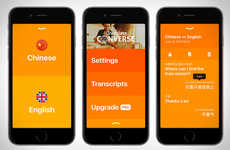Conversational Translation Apps - The iTranslate Converse App Converts Spoken Languages in Real-Time
