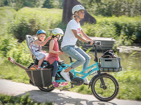Kid-Carrying Electric Bikes