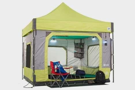 Quick Setup Six-Person Tents