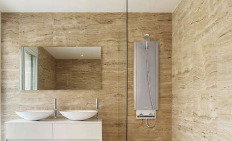 Thermal Battery-Powered Showers
