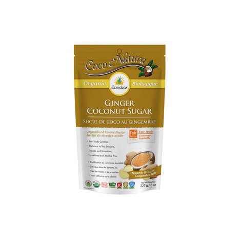 Ginger-Coconut Sweeteners