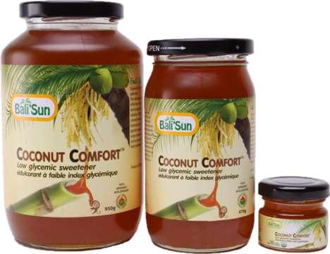Low-Glycemic Coconut Sweeteners