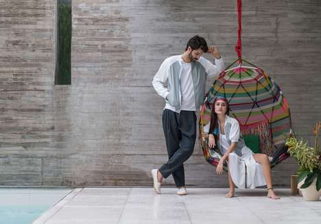Experimental Activewear Fabrics